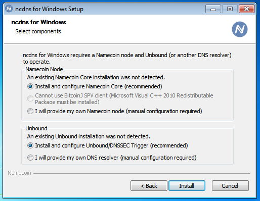 """Cannot use BitcoinJ SPV client (Microsoft Visual C++ Redistributable Package must be installed)"""